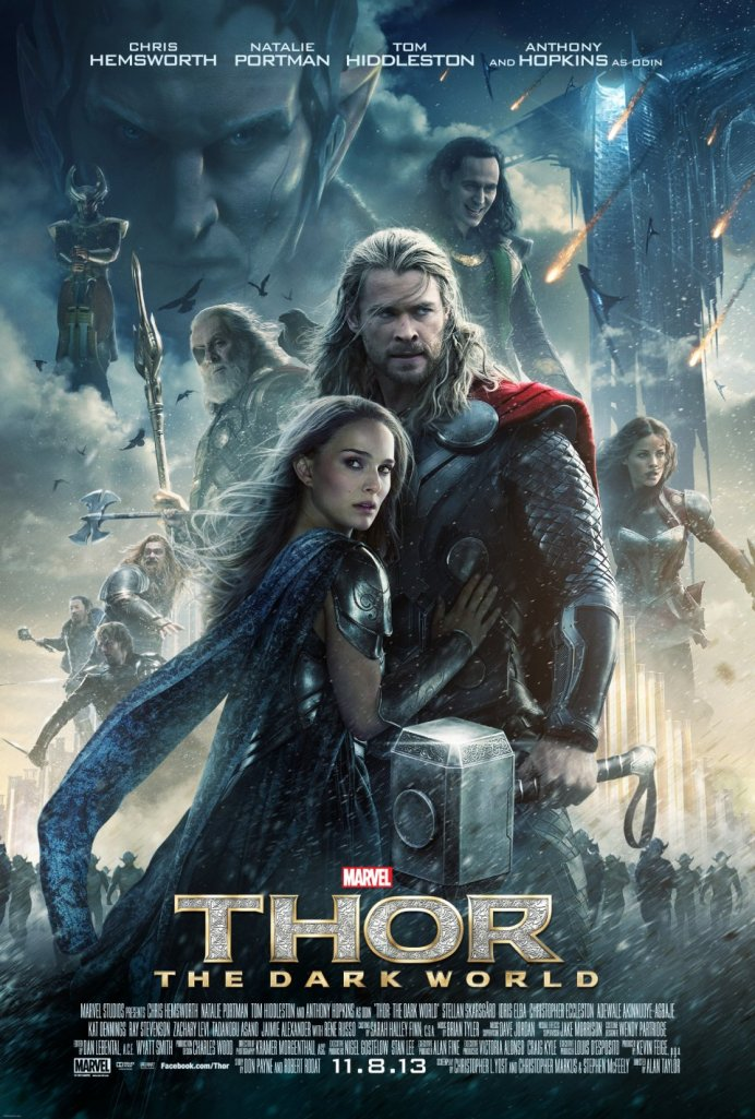 thor the dark world poster