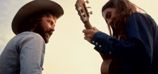 eric-clapton-george-harrison-living-inthe-material-world