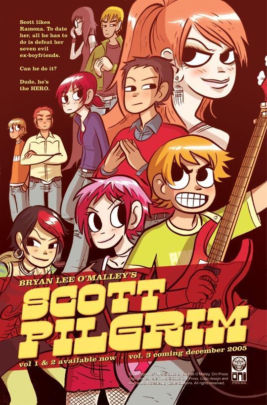 Scott Pilgrim vs the world comic 01