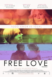 CHILE Poster FREE LOVE