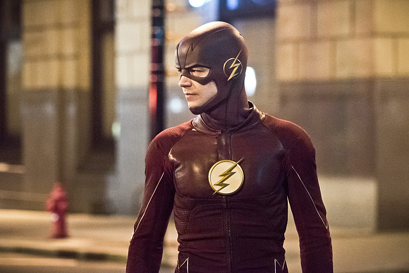 "The Flash -- ""Invincible"" -- Image: FLA222a_0542b.jpg -- Pictured: Grant Gustin as The Flash -- Photo: Dean Buscher/The CW -- © 2016 The CW Network, LLC. All rights reserved."
