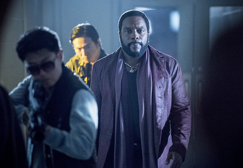 "Arrow -- ""Penance"" -- Image AR504a_0336b.jpg -- Pictured: Chad Coleman as Tobias Church -- Photo: Dean Buscher/The CW -- © 2016 The CW Network, LLC. All Rights Reserved."