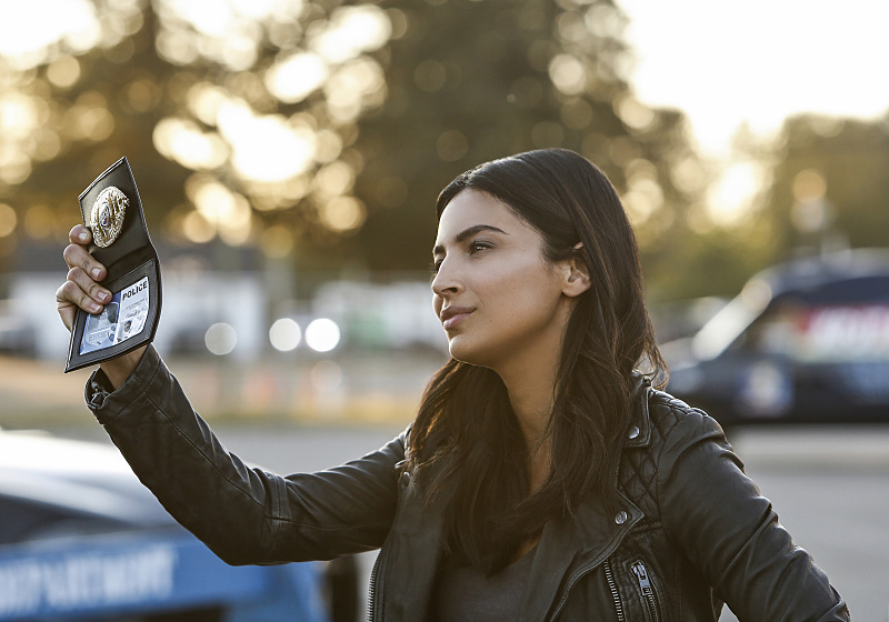 "Supergirl -- ""Welcome to Earth"" -- Image SPG203b_0202 -- Pictured: Floriana Lima as Maggie Sawyer -- Photo: Bettina Strauss/The CW -- © 2016 The CW Network, LLC. All Rights Reserved"