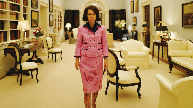"Natalie Portman as ""Jackie Kennedy"" in JACKIE. Photo by Pablo Larrain. © 2016 Twentieth Century Fox Film Corporation All Rights Reserved"